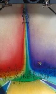 Lille au couleurs arc en ciel